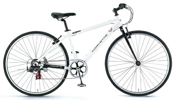 CORVETTE(コルベット)700Cクロスバイク シマノ7段変速ギア AL-CRB7007N ホワイト