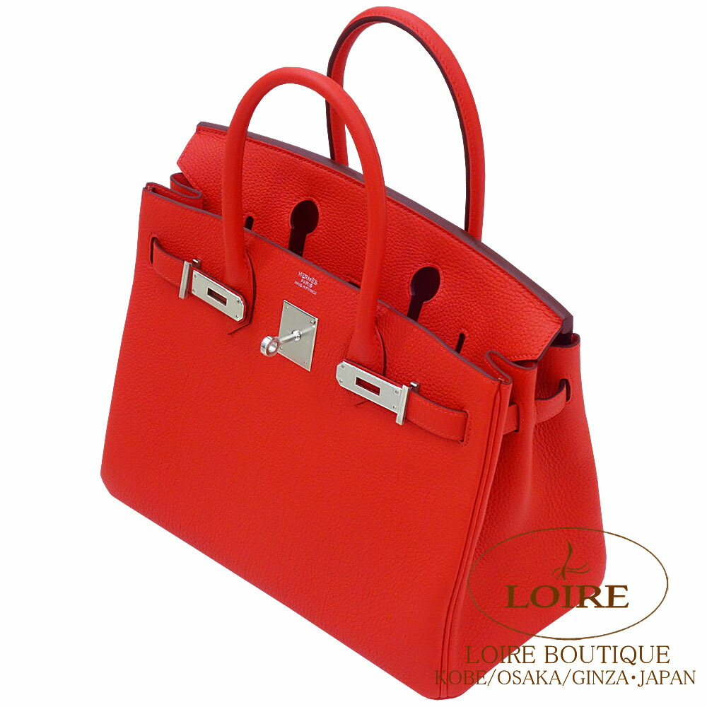 6c7711cfe Hermes Birkin 30cm. Scythe W30cm X H22cm X D16cm <material> トゴ <color>  ルージュドクール [ROUGE DE COEUR(S3)] [spring of 2019 summer new color]