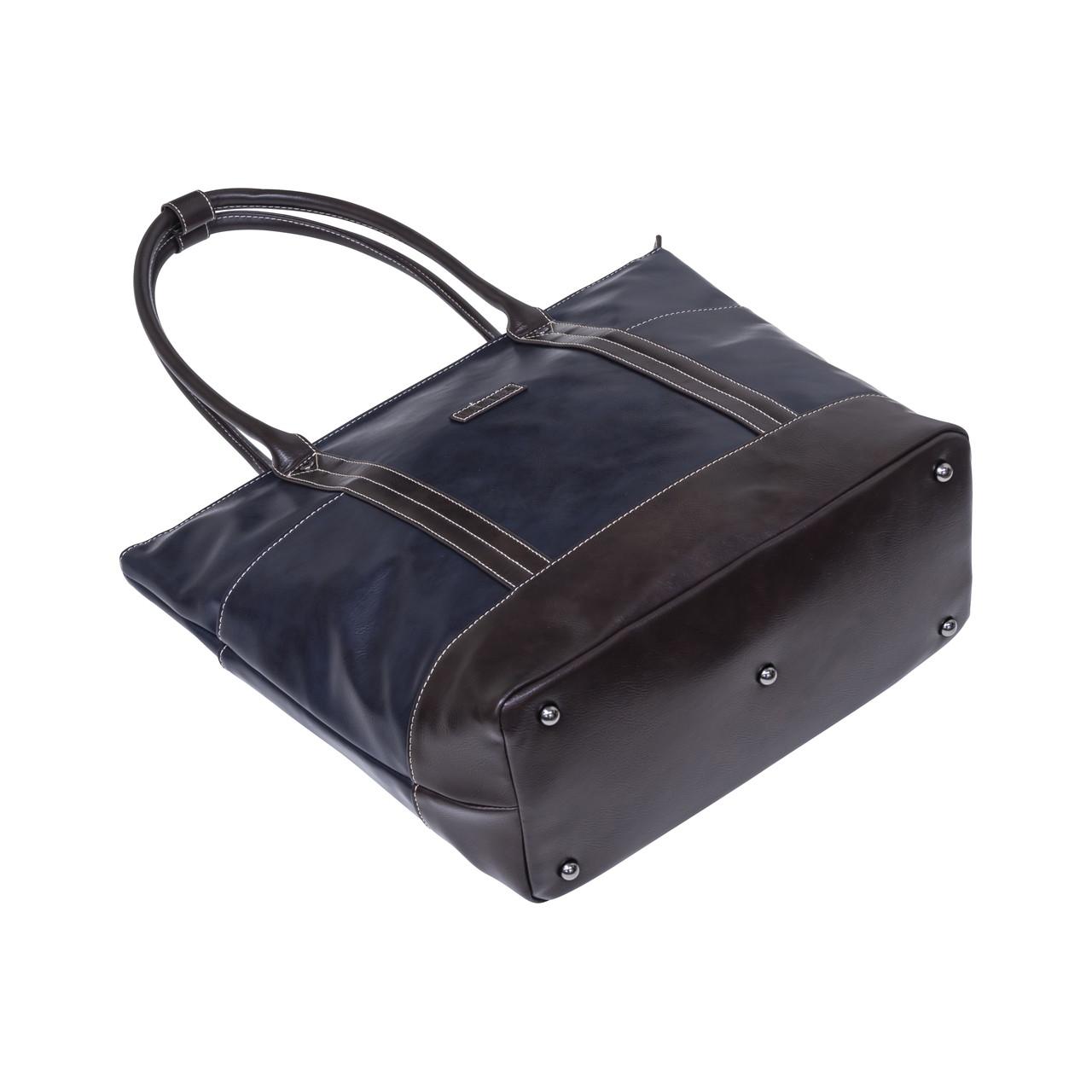 ELA-13072 トートバッグ メンズ トート 合皮 レザー 鞄 撥水 通勤 通学