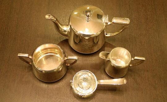 London Tea Roomオリジナルロゴ入りMappin&Webb(マッピン&ウェッブ)ティーセット LM01