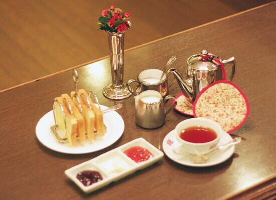 ブリティッシュスタイルの朝食イメージ