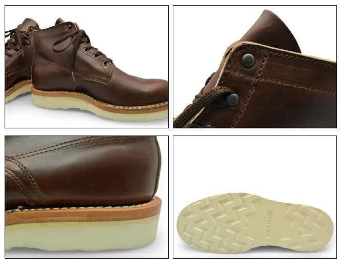 White's Boots 2332CC BRITISH TAN ( Height:5inch Width:E ) ホワイツ ブーツ 2332CC ブリティッシュタン 5インチ Eワイズ CHROME EXCEL ビブラムソール ワークブーツ レースアップブーツ ブランド
