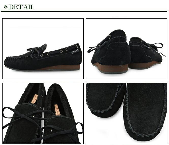 Bump N' GRIND バンプ アンド グラインド 2110 メンズ モカシン シューズ 本革 スエード 靴 MENS MOCASIN SHOES SUEDE 黒 ブラック BLACK ブランド