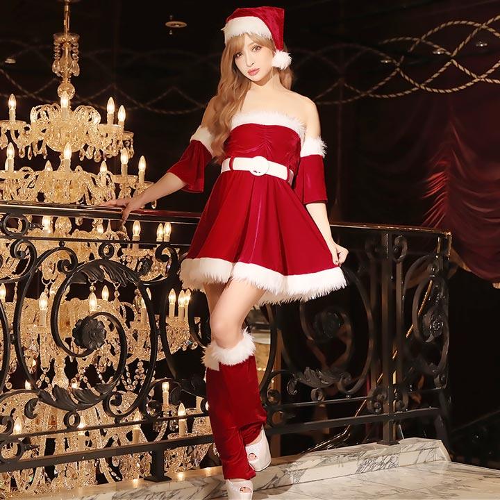 648c96c0b1acc サンタ コスプレ 衣装 サンタクロース 衣装 サンタコスチューム サンタ コス サンタ コスプレ 激安 クリスマス X mas xmas コスプレ  ドレス キャバ ladies dress