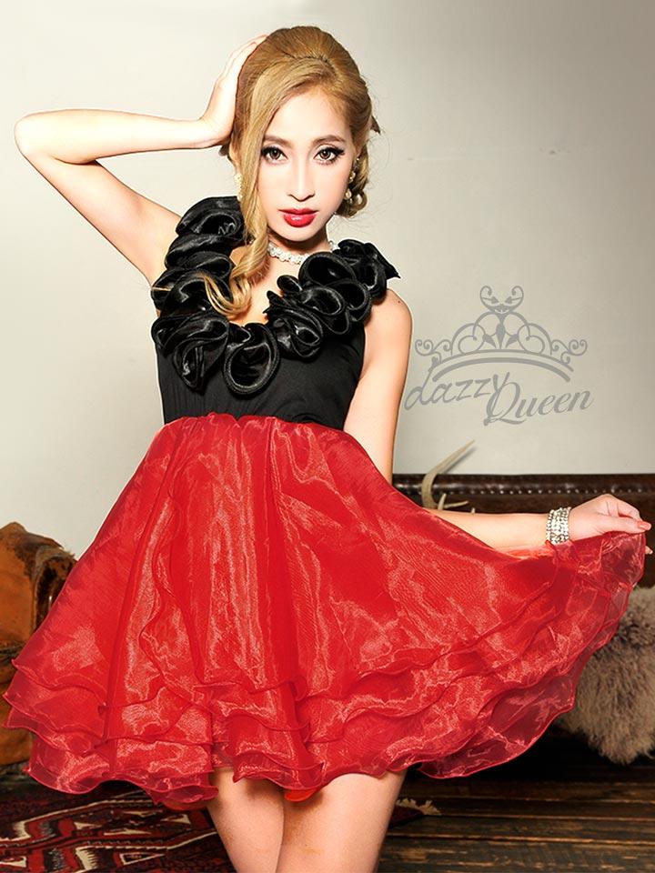 7453715d29895 X mas クリスマス 赤ドレス レッドドレス