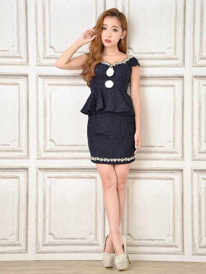 キャバ ドレス キャバドレス キャバドレス ワンピース S M 2