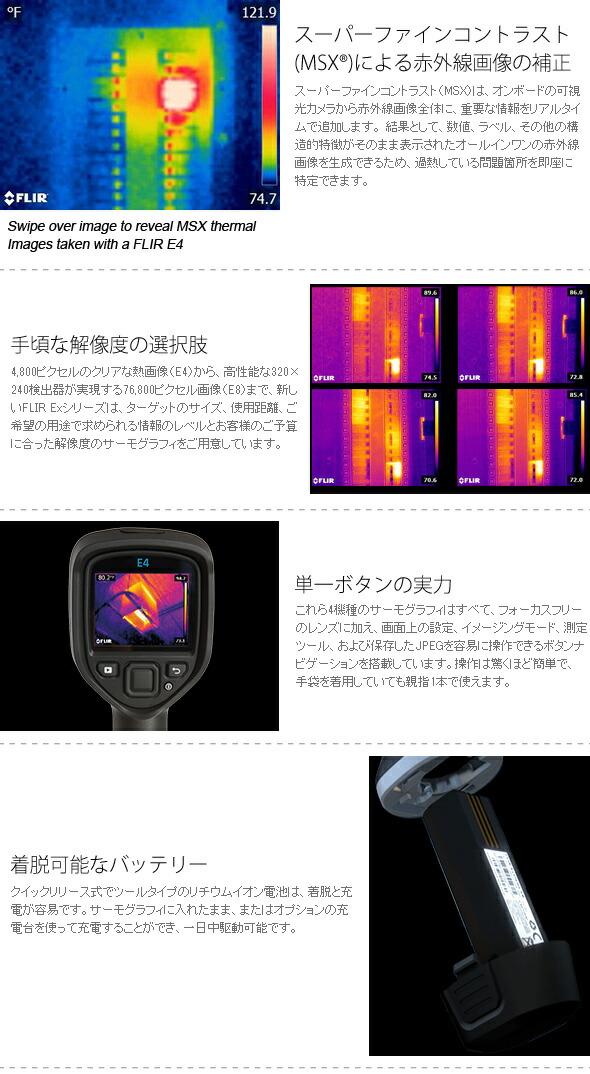 スーパーファインコントラスト(MSXR)による赤外線画像の補正