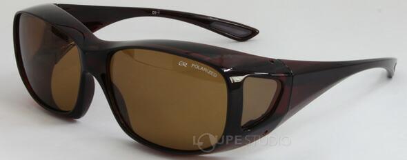 エロイコ 偏光オーバーグラス OS-1 ブラウン