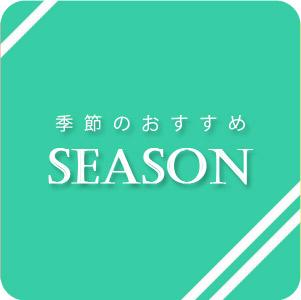 【季節のおすすめ商品】
