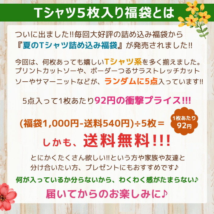 2014カジュアル系春夏物15点詰め込み福袋2