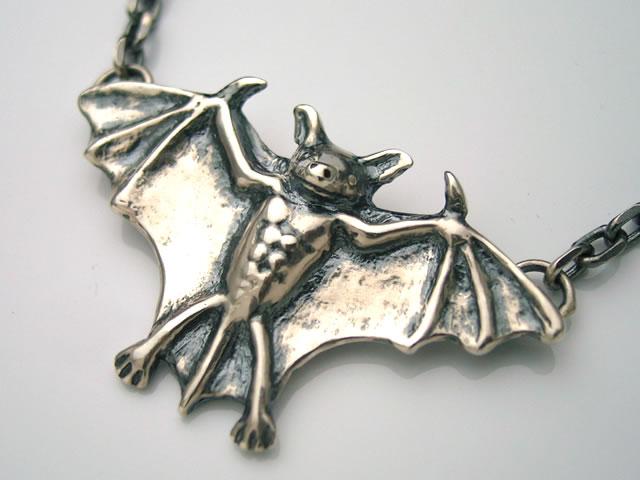 蝙蝠(コウモリ)ペンダントトップ