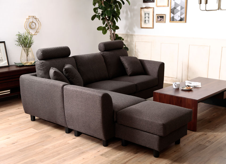 Luxze The Sofa Harder Ottoman Foot Holder High Back Which