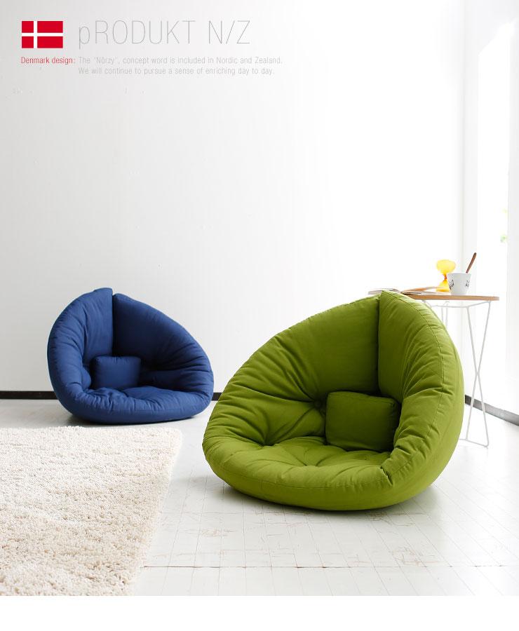 【楽天市場】ヨーロッパ デザイナー スタイリッシュ 2way 1人掛けソファ 北欧 ソファ 北欧家具 フロアソファー