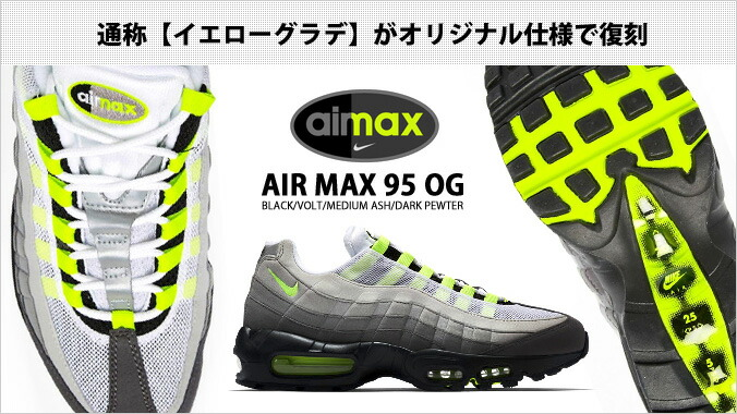 size 40 ddebd 96685 ○Legendary running shoes  AIRMAX95 (Air Max 95)  which were born in 1995.  The design which Sergio Lozano who was a designer received inspiration from  a ...