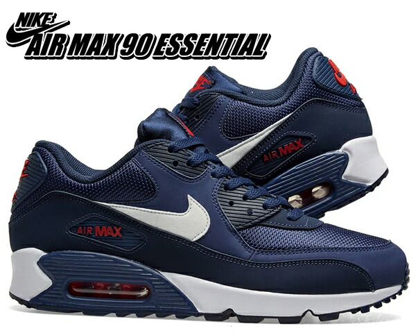 Among published by advantageous discount coupon! NIKE AIR MAX 90 ESSENTIAL midnight navywhite aj1285 403 sneakers navy essential tricolor