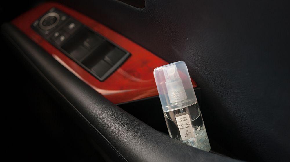 ホワイトセージ 浄化スプレー ルカス ポケットサイズ 車内の浄化、フレグランスに