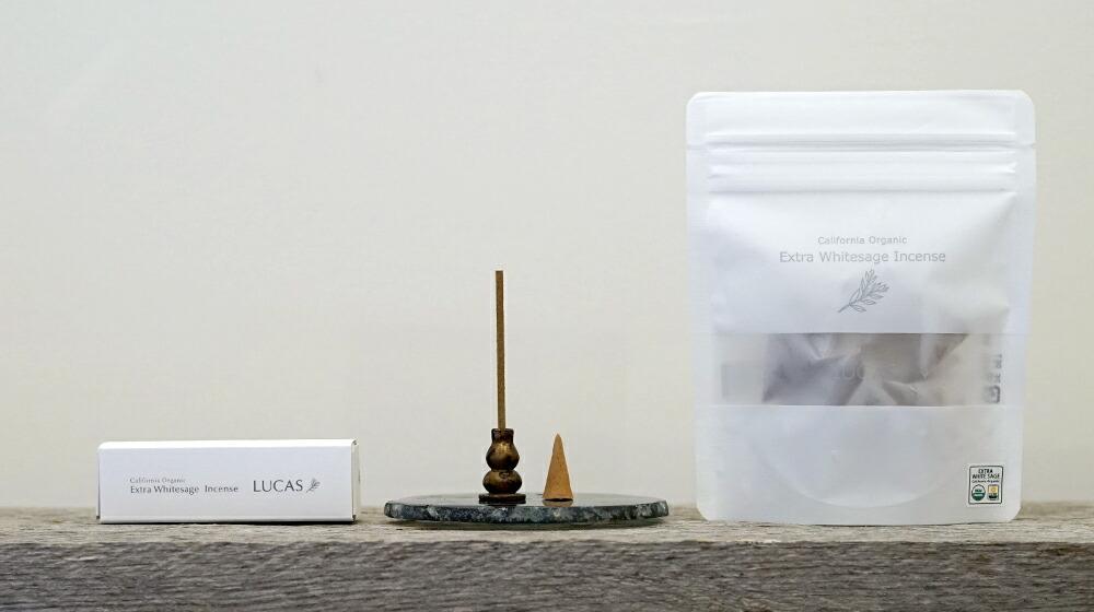 エクストラ・ホワイトセージ インセンス LUCASの種類
