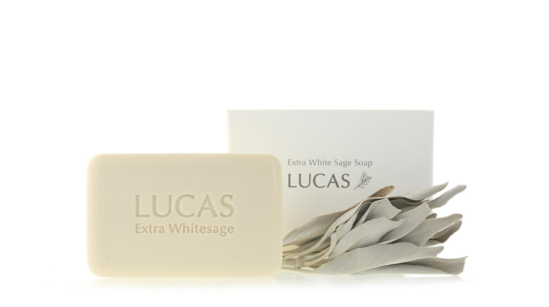 LUCAS エクストラ・ホワイトセージ ソープ 全身浄化用石鹸