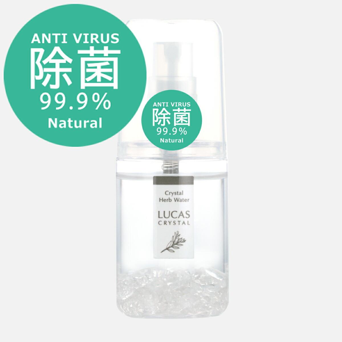 アンチウィルス 除菌スプレー ルカス 爽快ミントの香り(100%天然成分)