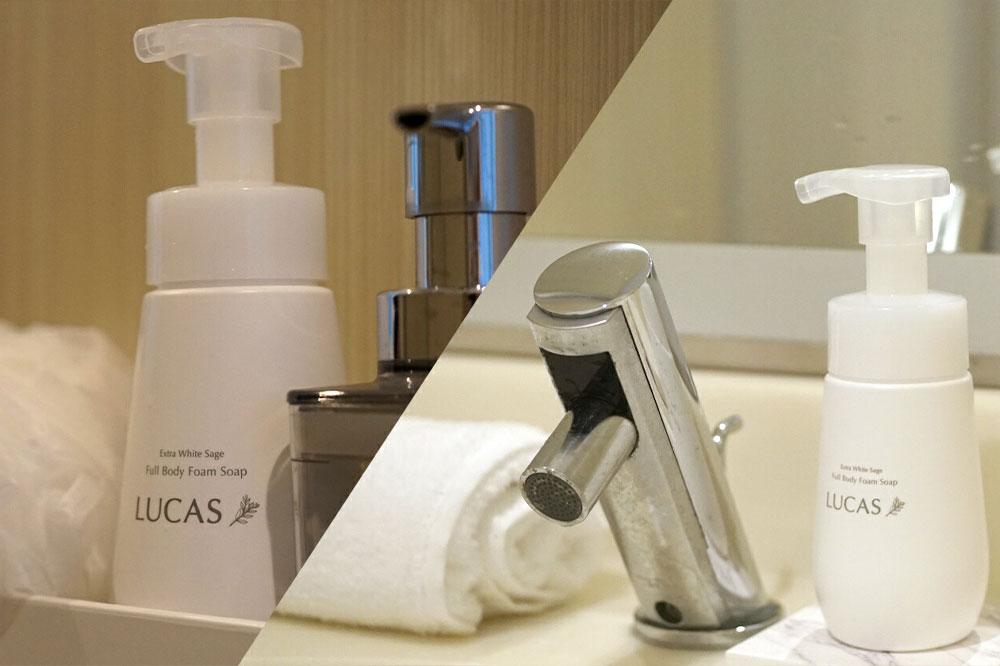 LUCAS Full Body Foam Soap