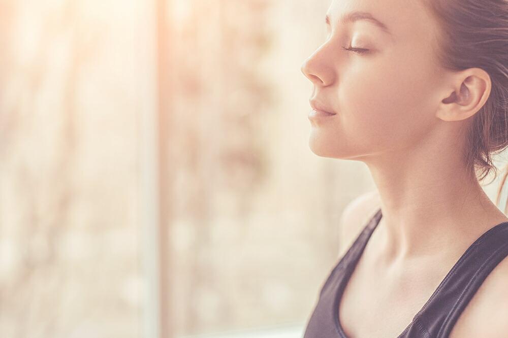 呼吸に集中する瞑想