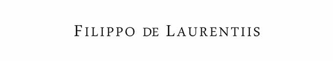 #FILIPPO DE LAURENTIIS / フィリッポ デ ローレンティス
