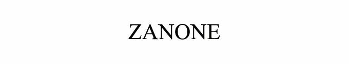 #ZANONE