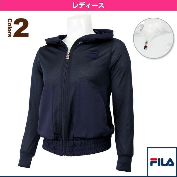 ロングスリーブフーデッドジャケット/レディース(VL1517)