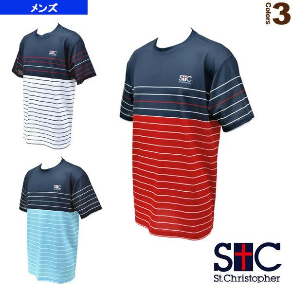 ボーダーゲームTシャツ/メンズ(STC-AGM1025)