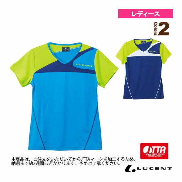 ゲームシャツ/襟なし/JTTA公認マーク付/レディース(XLH-225xP)