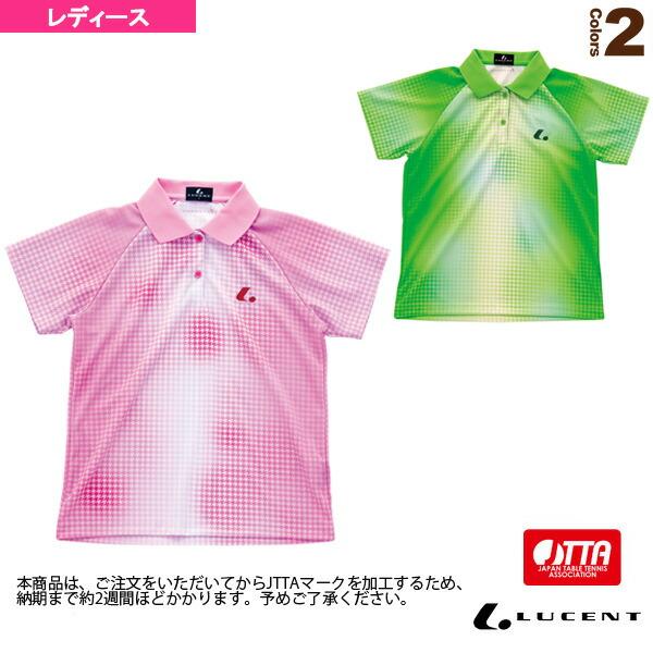 ゲームシャツ/JTTA公認マーク付/レディース(XLP-465xP)
