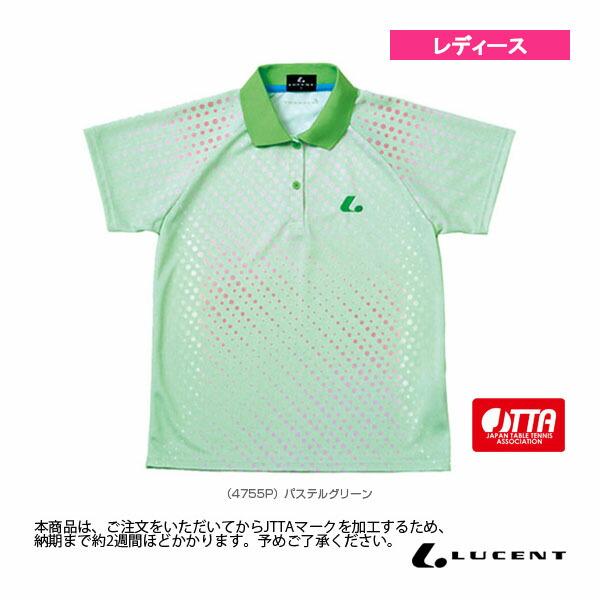 ゲームシャツ/JTTA公認マーク付/レディース(XLP-475xP)