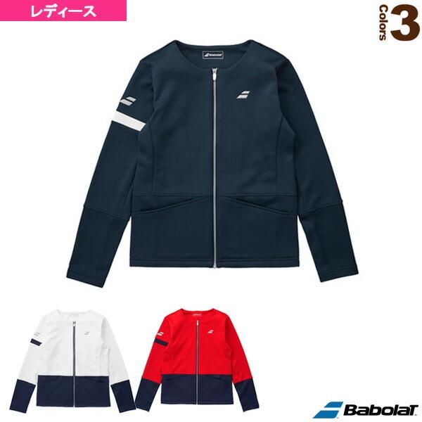 フリースノーカラージャケット/カラープレイライン/レディース(BTWMJK48)