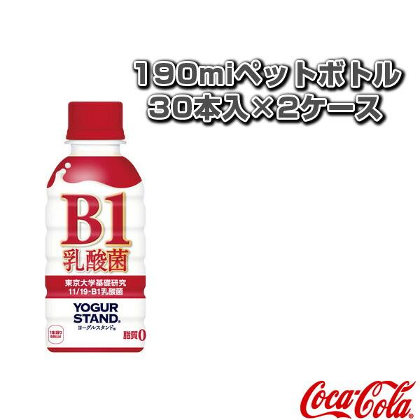 【送料込み価格】ヨーグルスタンド B-1乳酸菌 190miペットボトル/30本入×2ケース(48804)