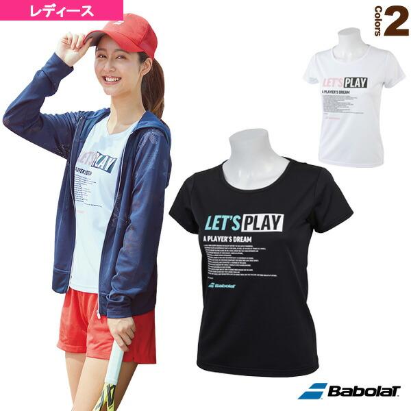 ショートスリーブシャツ/カラープレイライン/レディース(BTWNJA34)