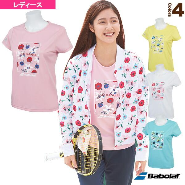 【予約】ショートスリーブシャツ/カラープレイライン/レディース(BTWNJA36)