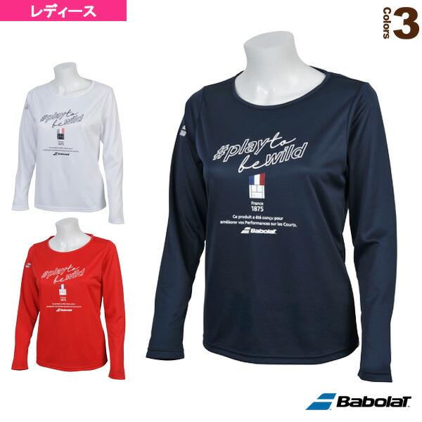 ロングスリーブシャツ/カラープレイライン/レディース(BTWNJB30)