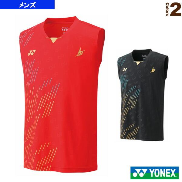 ゲームシャツ/ノースリーブ/フィットスタイル/メンズ(10322)