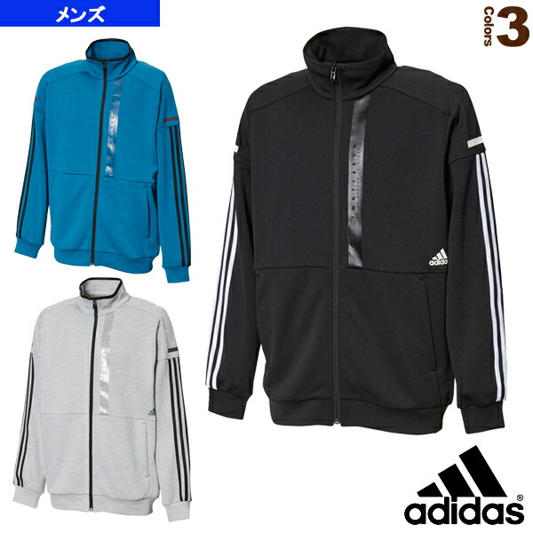 M adidas 24/7 ヘザーウォームアップジャケット/メンズ(FTL51)