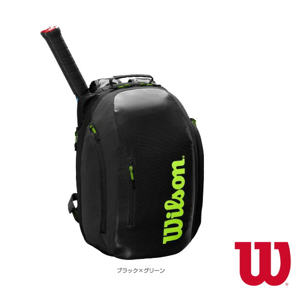SUPER TOUR BACKPACK/スーパーツアー バックパック/ラケット2本収納可(WR8004301001)