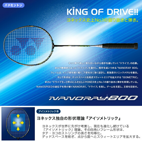 ナノレイ800/NANORAY 800(NR800)