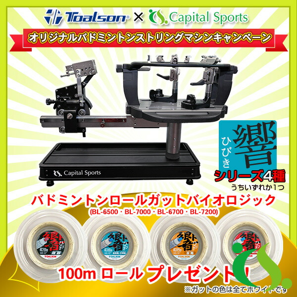 RP-BM001 ストリングマシン】バドミントン専用(RP-BM001)