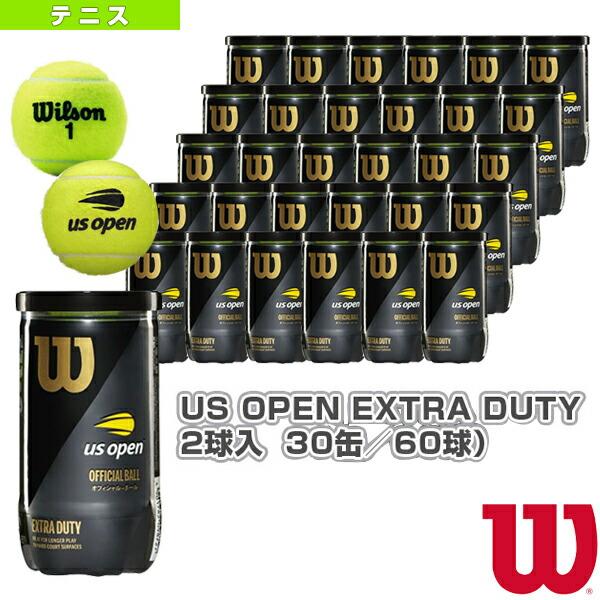 US OPEN EXTRA DUTY 2球入(エクストラデューティ)『箱単位(30缶/60球)』(WRT1000J)