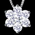 選べるK18×天然ダイヤモンド ペンダントネックレス