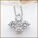 プラチナ ダイヤモンド ペンダント
