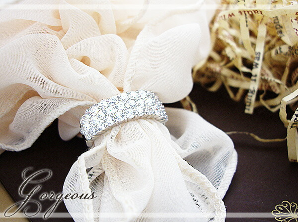pt900/pt950 2.0ctダイヤモンドパヴェリング『Gorgeous』
