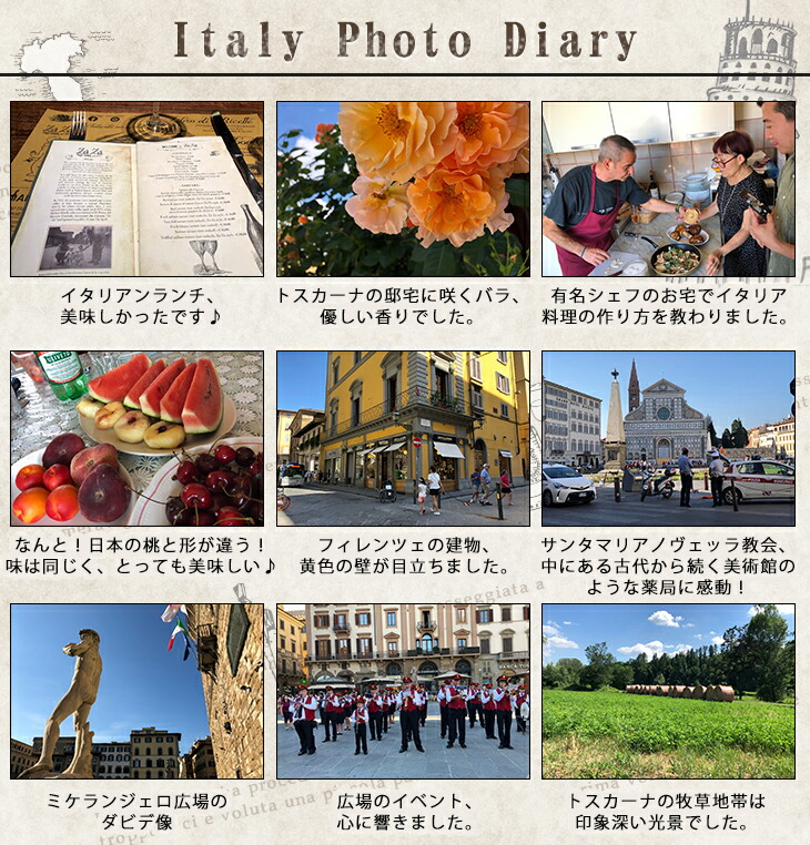 イタリア日記