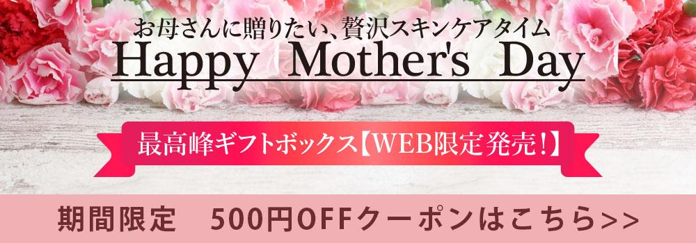 2019母の日限定ルルルン 500円OFFクーポン