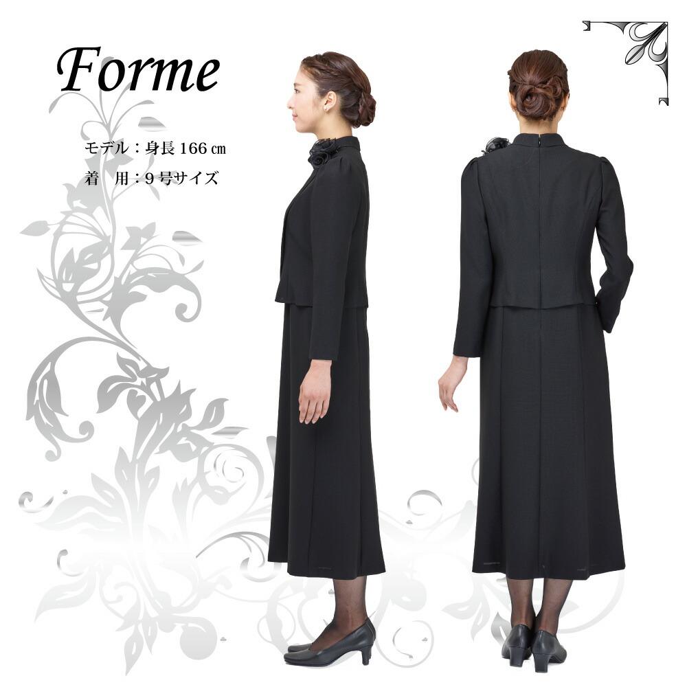 ブラックフォーマルワンピース(喪服 礼服)商品画像