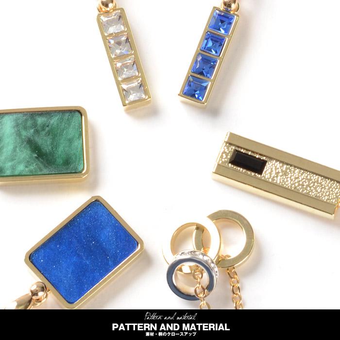 お兄系 ネックレス メンズ ペンダント アクセサリー アクセ ラインストーン リング マーブル ゴールド 金ネックレス 宝石 安アクセ 素材